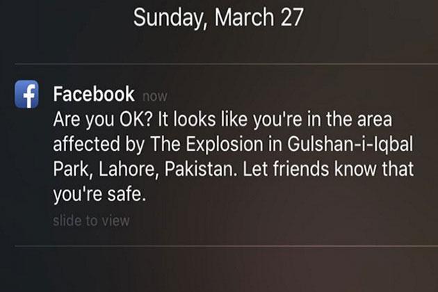Facebook'tan Yanlış Bildirim