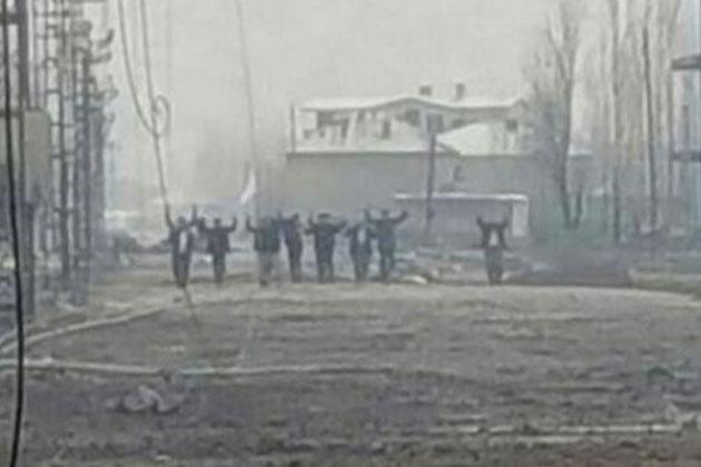 Yüksekova'da Biten Operasyonlar Sonrası Yalvararak Teslim Oldular