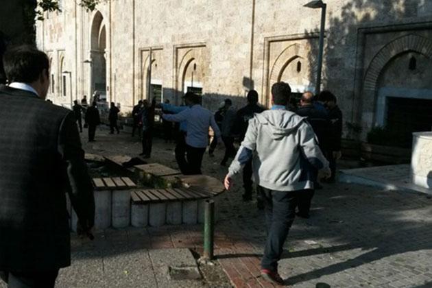 Bursa Ulu Camii Yakınında Patlama: Yaralılar Var!