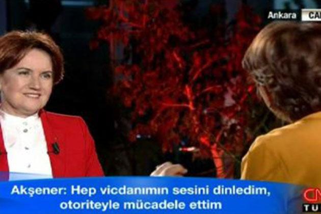 Meral Akşener: 'Gezi Çocuklarının Arkasında Durdum'