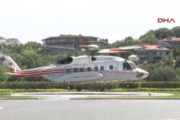 Erdoğan Ailesi Nikaha Helikopterle Geldi