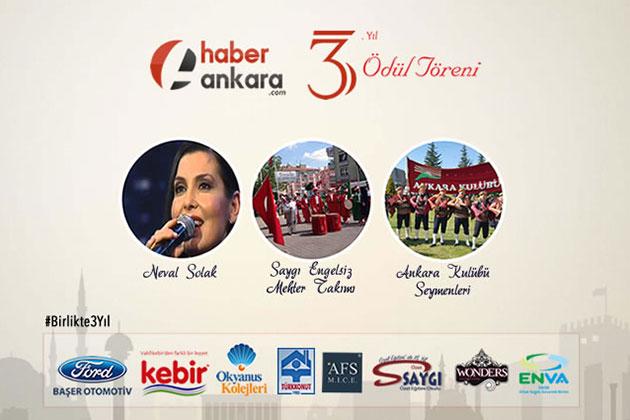 Haber Ankara'dan 3. Yılında da Prestij ve Ödül Gecesi