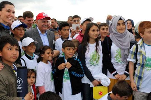Başbakan Yıldırım Erzincan'da Doğa Yürüyüşü Yaptı