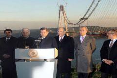 Başbakan Davutoğlu'ndan 3. Köprü Müjdesi: Yaza Açılıyor