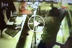 Kuyumcu Soygununda Çıkan Çatışma Kamerada