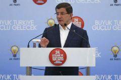 Başbakan Ahmet Davutoğlu: Bunu Yapamayanlar Utansın