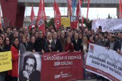 Çalışan Gazeteciler Günü'nde CHP'den Silivri Cezaevi Önünde Eylem
