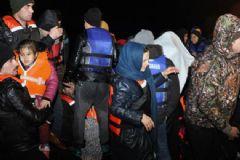 Aydın'da 65 Mülteci Kurtarıldı