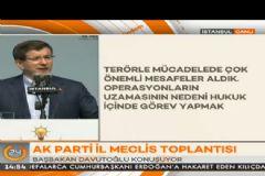 Davutoğlu'ndan Kılıçdaroğlu'nun Erdoğan Sözlerine Sert Tepki