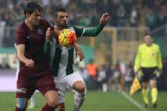 Bursaspor: 4 Trabzonspor: 2