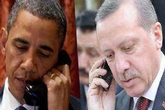 Obama Erdoğan ile Telefonda Görüştü