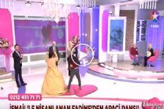 Nişanlanan Fadime'den Apaçi Dansı