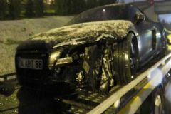 Fenerbahçeli Futbolcuları Taşıyan Araç 3 Takla Attı