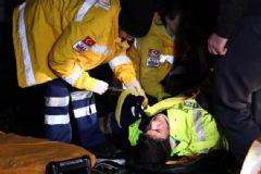 Erdoğan'ın Konvoyunun Geçtiği Güzergahta Kaza: 1 Polis Yaralı
