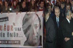 Kılıçdaroğlu Uğur Mumcu'yu Anma Törenine Katıldı