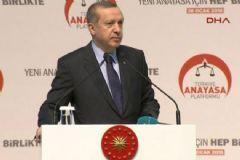 Cumhurbaşkanı Erdoğan'dan Başkanlık Açıklaması