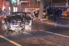 Beşiktaş'ta Feci Kaza: 1 Polis Şehit