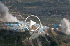 Hava Saldırısı Sonrası Sığınmacı Kampında Son Durum