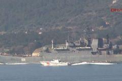 Rus Donanması Çanakkale Boğazı'nda