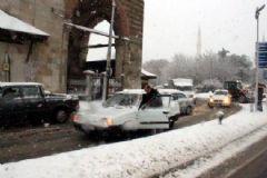 Edirne Yoğun Kar Yağışına Teslim Oldu