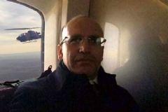 Mehmet Şimşek'ten Yerli Helikopterde Selfie