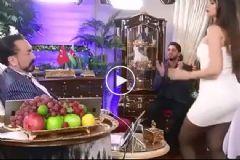 Adnan Oktar'ın Kediciği Kışkırtıcı Dansıyla Büyüledi