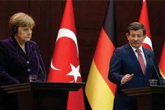 Davutoğlu ve Merkel 10 Maddede Anlaştı