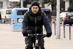 Serdar Ortaç'ın Bisiklet Kazası