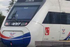 Sakarya'da Hızlı Tren Elektrik Kesintisine Takıldı