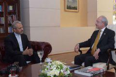 Kılıçdaroğlu İran Büyükelçisi Bikdeli ile Görüştü