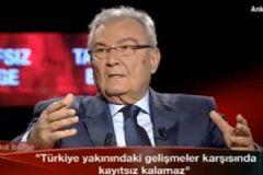 Baykal: Türkiye'nin Azez-Halep Hattını Bombalama Hakkı Var