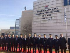 Yerli Savaş Uçağı Ofisi Açıldı