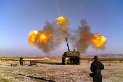 TSK'dan YPG'ye Top Atışı!