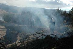 Ardahan'ın Gürcistan Sınırındaki Bir Köyde Yangın Çıktı