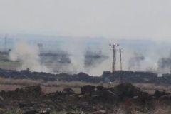 Kilis'ten PYD Bölgesine Fırtına Obüsleriyle Karşılık Verildi