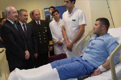 CHP Lideri Kılıçdaroğlu GATA'da Yaralıları Ziyaret Etti