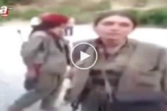 Kürt Nine'den Kadın Teröriste Tokat Gibi Cevap