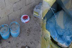 Bomba Yapımında Kullanılan Çok Sayıda Mühimmat Ele Geçirildi