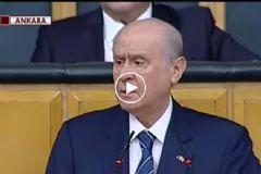 Bahçeli'nin Prompteri Bozuldu MHP'lilere Kızdı