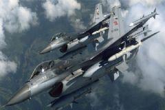 F16'lar Kandil'i Akıllı Bombalarla Vurdu