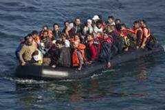 Kaş'ta 17'si Çocuk 43 Suriyeli Mülteci Yakalandı