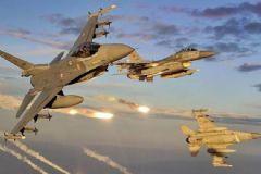 Türkiye'ye Ait 14 F-16 Suriye Sınırında Devriyede
