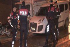 Ankara'da Asayiş Uygulaması: 76 Gözaltı