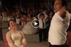 Damadın Düğündeki Oryantel Şovu Olay Yarattı