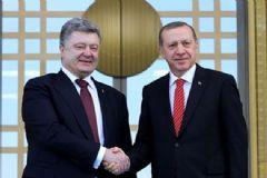 Ukrayna Devlet Başkanı Poroşenko Cumhurbaşkanlığı Sarayı'nda