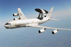 NATO Uçağı Türk Hava Sahasında!