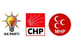 3 Parti Ortak Bildiri Yayınladı