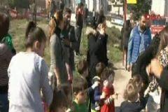 İstanbul'da Anaokulunda Yangın Çıktı