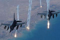Türk Savaş Uçakları PKK Kamplarını Bombaladı