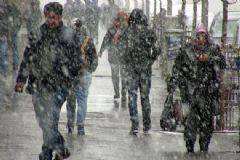 Erzurum Ve Ardahan'da Yoğun Kar Yağışı Etkili Oldu